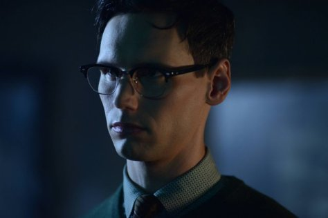 """GOTHAM: L-R: Cory Michael in the """"Rise of the Villains: A Bitter Pill to Swallow"""" episode of GOTHAM airing Monday, Nov. 16 (8:00-9:00 PM ET/PT) on FOX. ©2015 Fox Broadcasting Co. Cr: Nicole Rivelli/ FOX"""