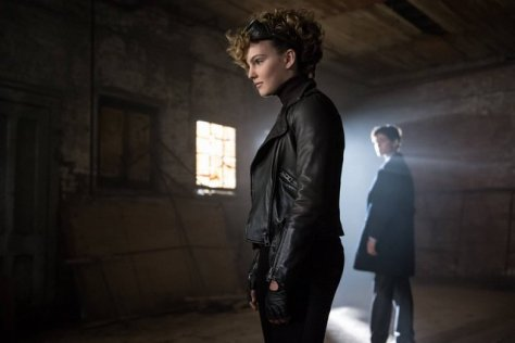 GOTHAM: L-R: Camren Bicondova and David Mazouz in the ÒRise of the Villains: The Son of GothamÓ episode of GOTHAM airing Monday, Nov. 23 (8:00-9:00 PM ET/PT) on FOX. ©2015 Fox Broadcasting Co. Cr: Jeff Neumann/ FOX