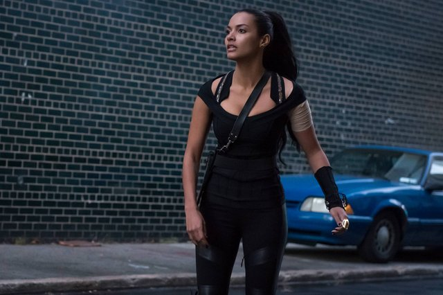"""GOTHAM: L-R: Jessica Lucas in the """"Rise of the Villains: The Son of GothamÓ episode of GOTHAM airing Monday, Nov. 23 (8:00-9:00 PM ET/PT) on FOX. ©2015 Fox Broadcasting Co. Cr: Jeff Neumann/ FOX"""