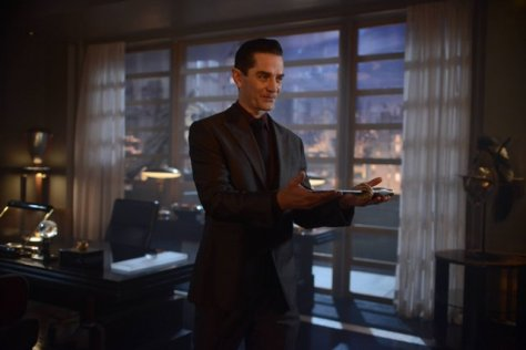 "GOTHAM: L-R: James Frain in the ""Rise of the Villains: Tonight's the Night"" episode of GOTHAM airing Monday, Nov. 9 (8:00-9:00 PM ET/PT) on FOX. ©2015 Fox Broadcasting Co. Cr: Nicole Rivelli/FOX."