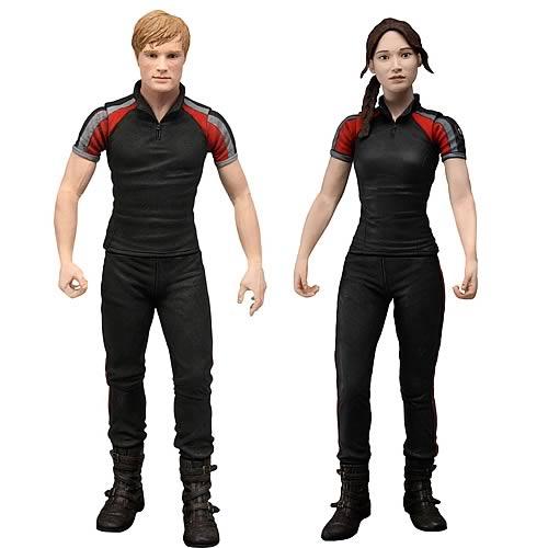 Hunger Games NECA figures - Peeta and Katniss