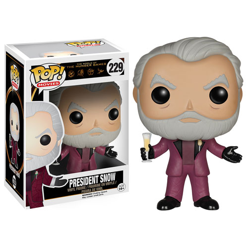 Hunger Games Pop vinyl figure - President Snow