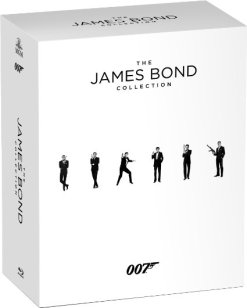 James Bond collection Blu-Ray