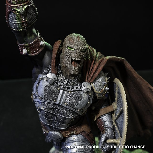Spawn is ready to get Medieval on collectors