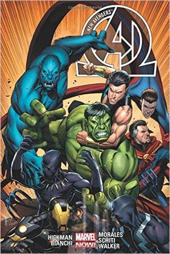 New Avengers hardcover 2
