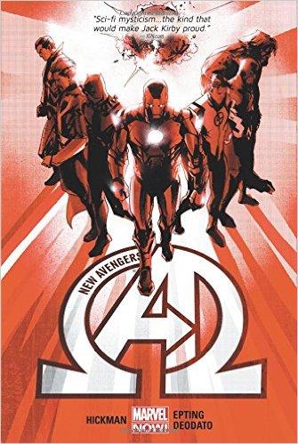 New Avengers hardcover