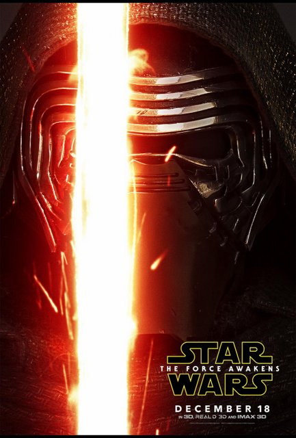 Star Wars Force Awakens poster - Kylo Ren