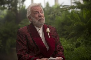 The Hunger Games Mockingjay Part II - Donald Sutherland as President Snow