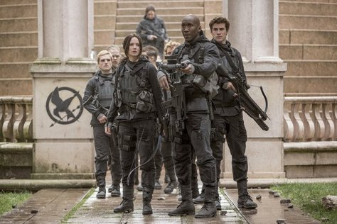 The Hunger Games Mockingjay Part II - Peeta, Katniss, Boggs and Gale
