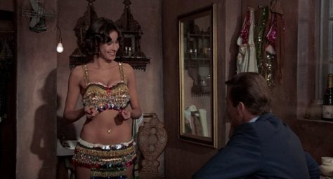The Man With the Golden Gun -Bond and belly dancer