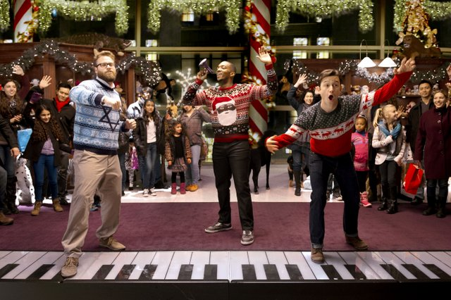 The Night Before review – holiday comedy is a no, no, no