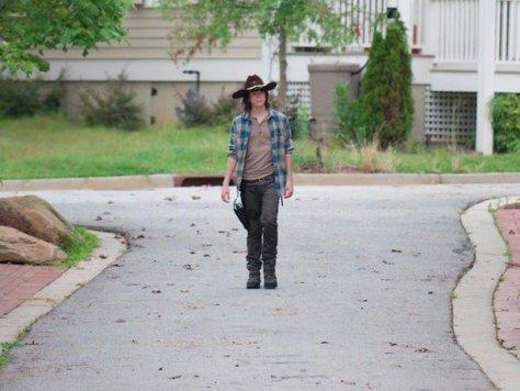 The Walking Dead - Heads Up - Carl