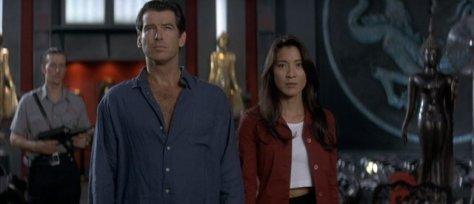 Tomorrow-Never-Dies-Bond and Wai Lin
