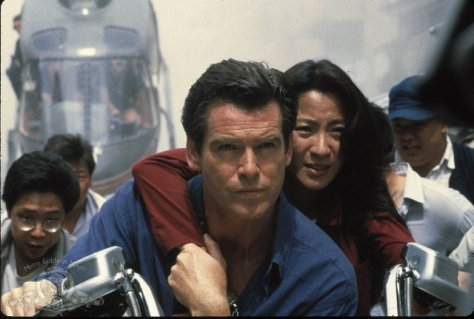 Tomorrow Never Dies - Pierce Brosnan and Michelle Yeoh