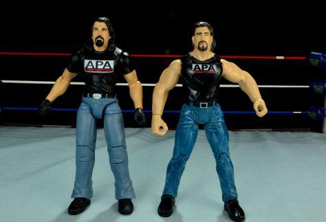 WWE Mattel APA -Mattel Bradshaw and Jakks Bradshaw