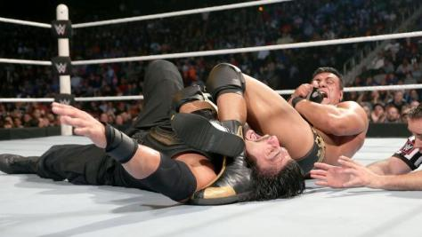 WWE Survivor Series 2015 - Alberto Del Rio vs Reigns