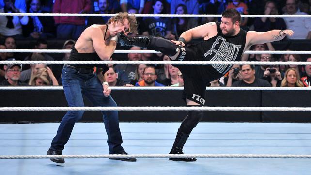 WWE Survivor Series 2015 - Ambrose vs Owens