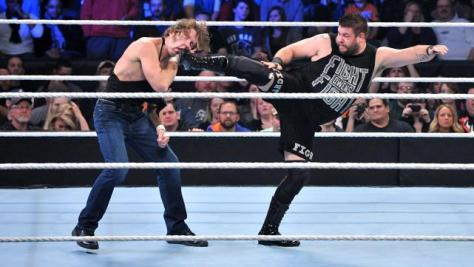 WWE Survivor Series 2015 - Ambrose vs Owens