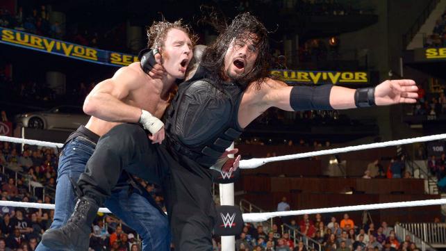 WWE Survivor Series 2015 - Ambrose vs Reigns