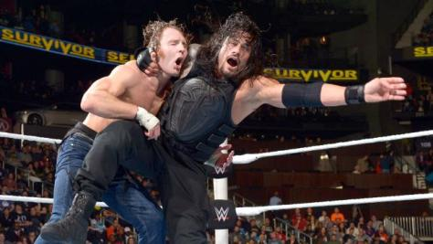 WWE Survivor Series 2015 - Ambrose vs Reigns