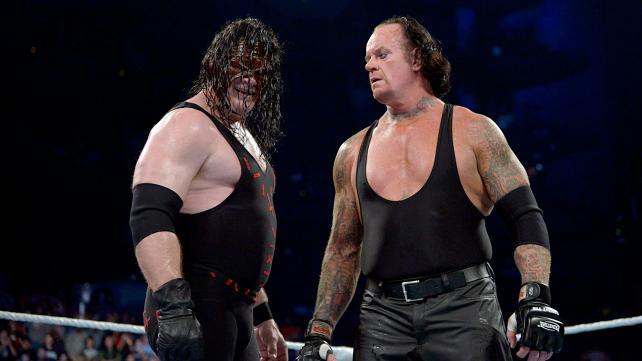 WWE Survivor Series 2015 - Kane and Undertaker