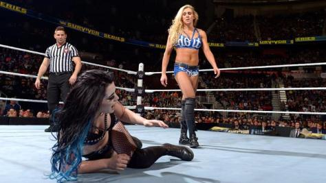 WWE Survivor Series 2015 - Paige vs Charlotte