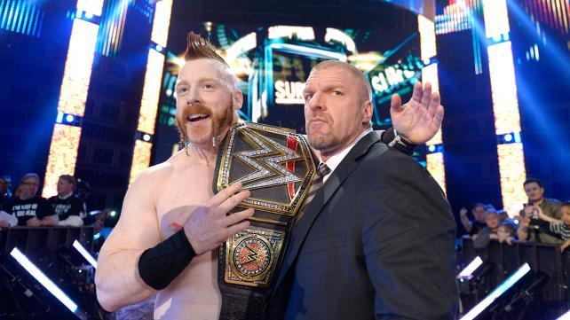 WWE Survivor Series 2015 - Sheamus and Triple H