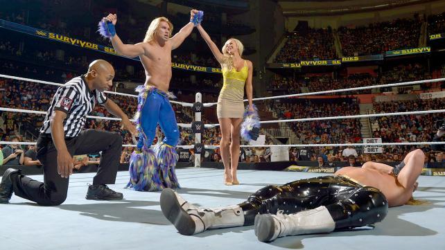 WWE Survivor Series 2015 - Tyler Breeze vs Dolph Ziggler