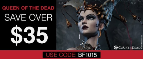 queen of the dead sideshow collectibles
